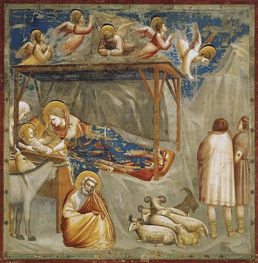Giotto - de geboorte